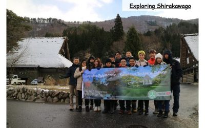 OUTBOUND TRIP: GoGlobal Outbound Programme- Kanazawa Technical College (KTC), 11 to 20 December 2016